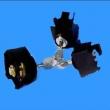 DW45防合锁|三锁二钥匙